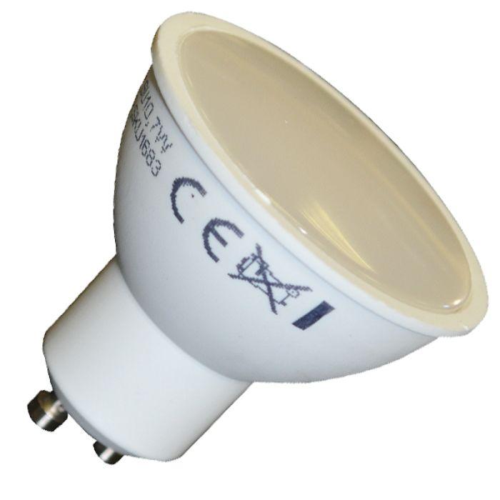 LED žiarovka GU10, 7W, teplá biela, 500lm