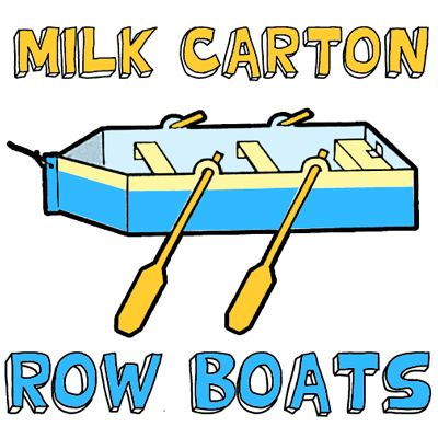 How to Make a Milk Carton Row Boat « Box And Container Crafts « Kids Crafts & Activities
