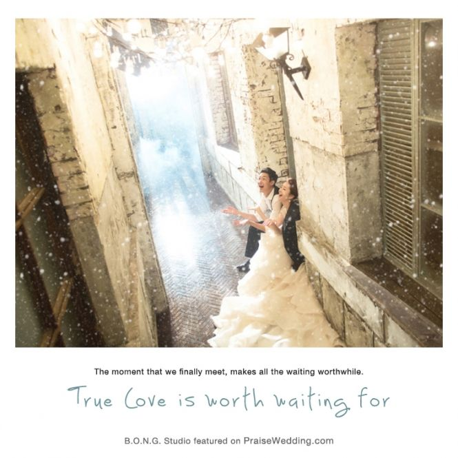 True love is worth waiting for!