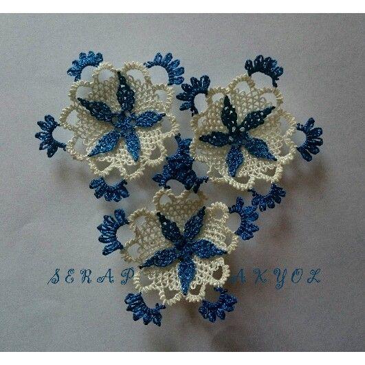 #iğneoyası #çiçek #mavi#iğne