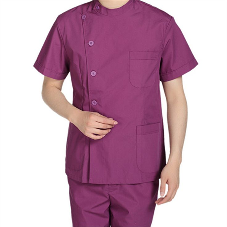 Custom Design Stand Collar Men Nurse Uniform Medical Doctor Overalls Surgical Care Workwear Dental Clinic Uniforms Medical Cloth