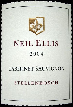 Neil Ellis Cabernet Sauvignon, vineyard selection is an excellent wine and is best consumed after leaving it to mature for at least 5 years. Neil Ellis has hight quality wines and can be found in Stellenbosch Cape Town