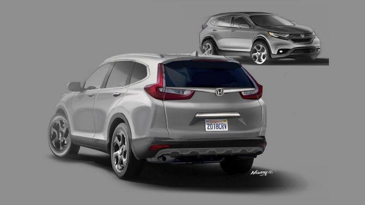 2017 #Honda #CRV imagined - #Rendering