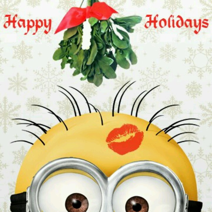 Funny Happy Xmas Quotes: 1000+ Images About A Very Minions Christmas On Pinterest