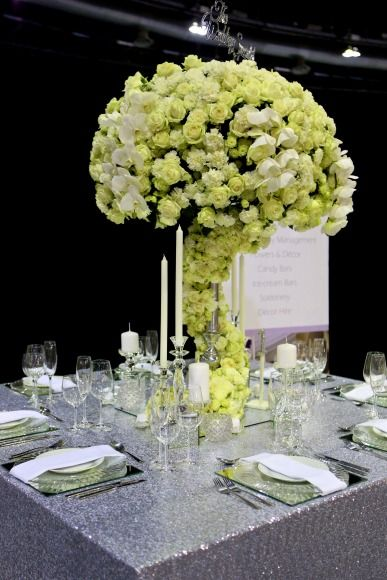 The Wedding Expo Table Top Decor competition March 2016 entrant The SA School of Weddings. Photography by SDR Photo.