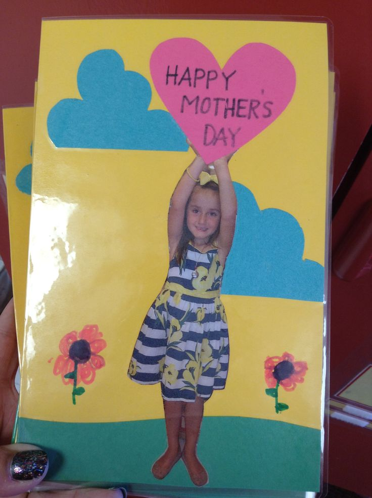 Card my kids helped with for Mother's Day. Could also be used for Valentines day or just a regular card.