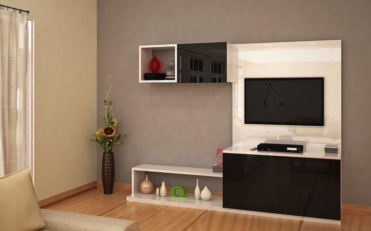 Les 25 meilleures id es de la cat gorie tv unit online sur for Interio meuble tv