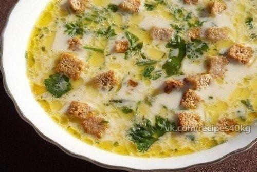Лёгкий, тёплый, нежный суп в холодные осенние дни  Итого на 100 грамм - 74.03 ккал: Белки- 6.15Жиры -2.30Углеводы - 7.46