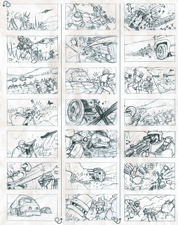 19 Best Images About Commercial Storyboard Examples