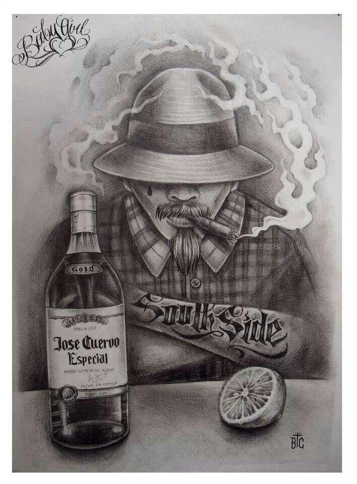 311 best Dibujos de cholas images on Pinterest  Chicano art