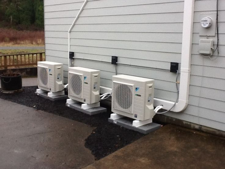 25 best ideas about ductless ac on pinterest mini ac for Small house heating systems