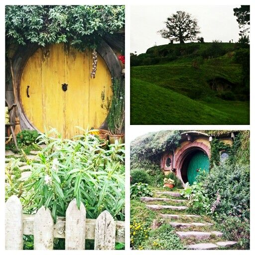 Hobbiton movie set - NZ