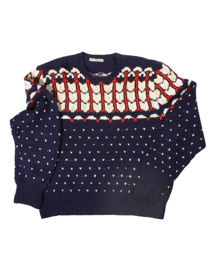 #Wooljacquard #sweater60s #mountainwool #vintagemountainwool http://www.madeinused.com/product-category/knitwear/mountain-knitwear/