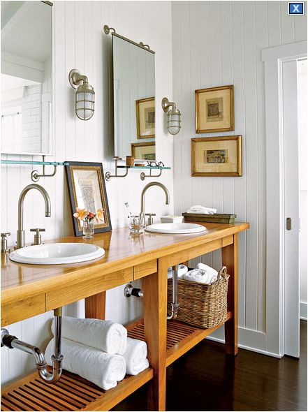 Cabin wainscoting ideas style bathroom design ideas for English cottage bathroom ideas