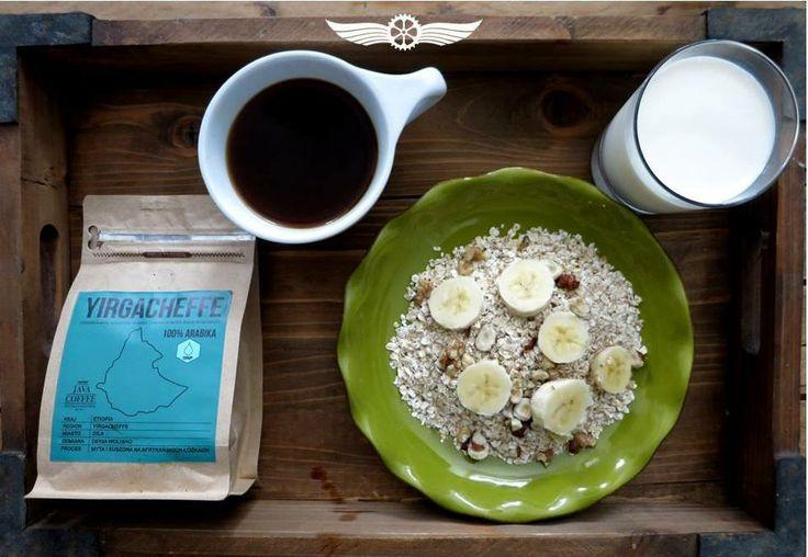 oatmeal + banana + Yirga = heaven