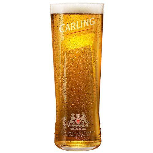 Carling Beer Glasses