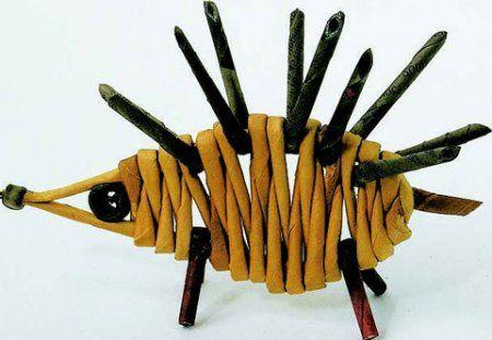 Плетение из газетных трубочек: мастер-класс для начинающих