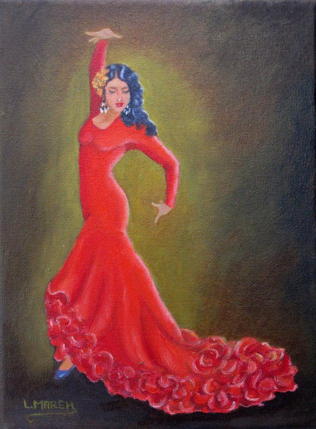dancing - Flamenco Dancer by Lorraine Marsh | Flamenco ...
