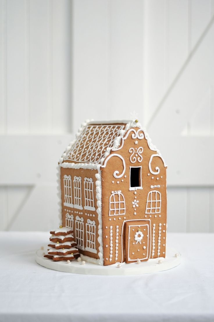 Old Cape Dutch Gingerbread House by LionHeart