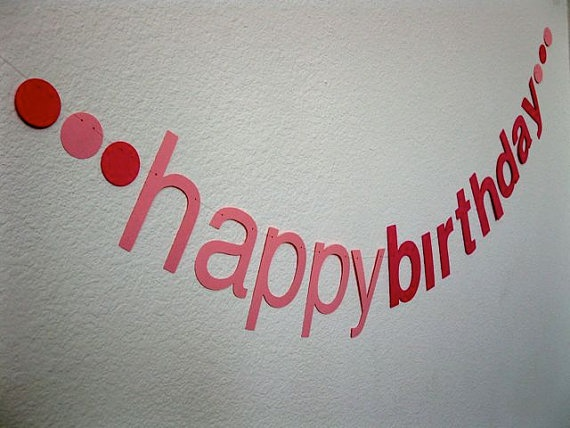 I am sure one day, Ellie will have a 'helvetica' birthday party. Because she is the daughter of nerds