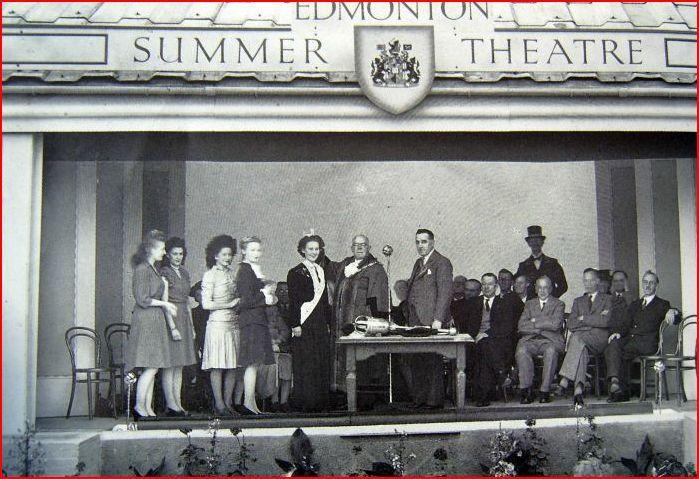 Pymmes Park summer theatre c.1950's