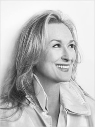 Meryl Streep. I cannot fathom how so much grace, beauty, and talent can be possessed by one woman. Probably the person I would be most star struck by.