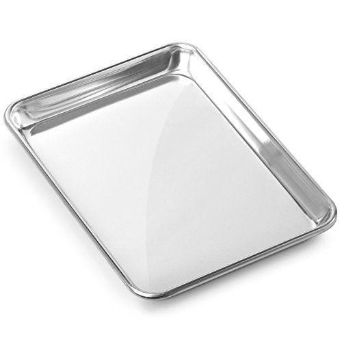 Toaster Oven Pan Non Stick Cookies Baking Sheet Kitchen Aluminum Tray 9 x 13 In #PerfectHomeSavings