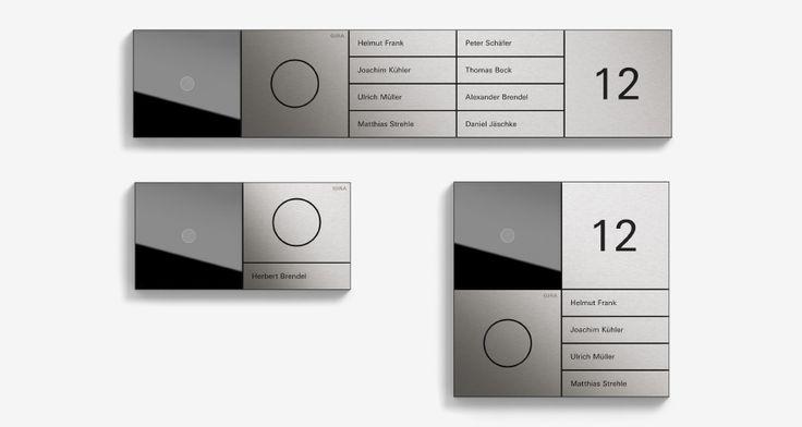 die besten 25 klingel ideen auf pinterest design briefkasten briefkasten mit hausnummer und. Black Bedroom Furniture Sets. Home Design Ideas
