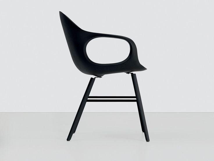 Buy the Kristalia Elephant Chair on Wooden Base at Nest.co.uk