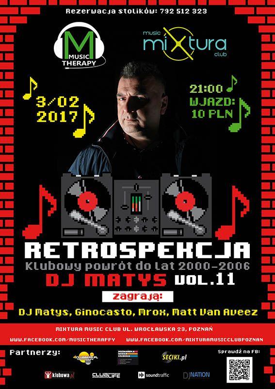 Club-Life.eu - Portal Muzyki Klubowej - Retrospekcja 11 - Klubowy powrót do lat - 2000-2006 Gość: specjalny: Dj Matys