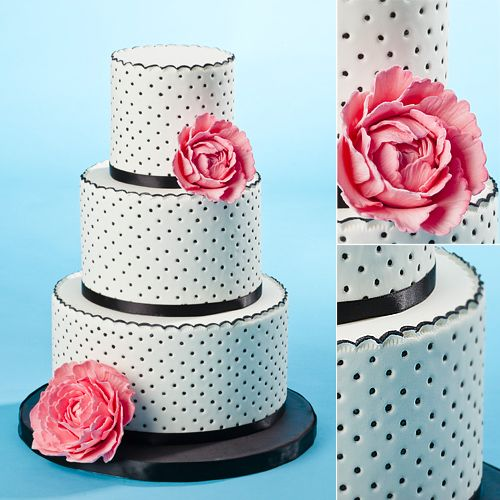 wedding cake polka dots 17 best images about cakes black amp white 1 on 23512