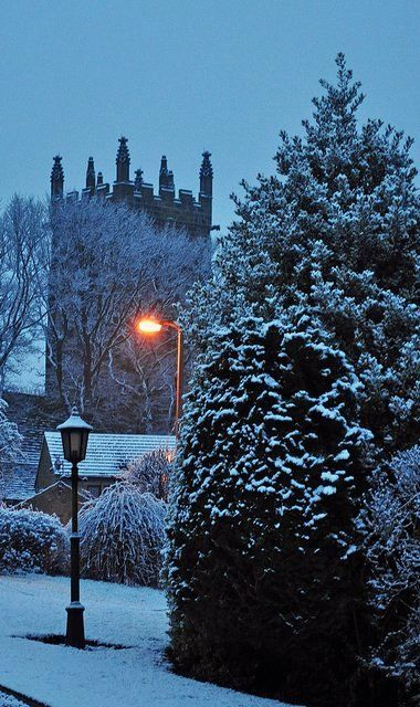 St Michael's in the snow - Emley, West Yorkshire, England | by littlestschnauzer