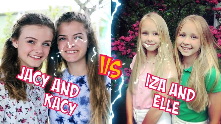 Jacy and Kacy VS Iza and Elle l Battle Musers l Musical.ly Compilation