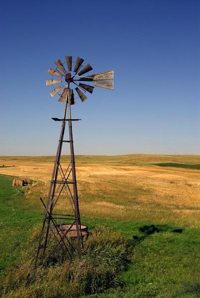 North Dakota Windmill