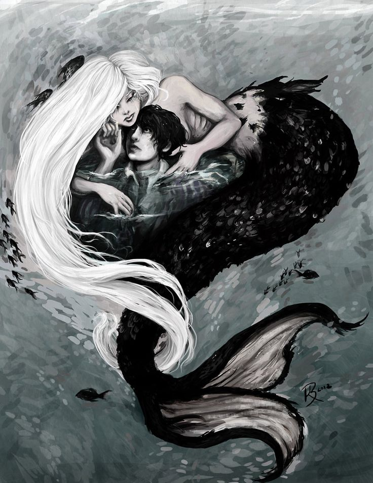 Mermaids Lover by BriarNoir.deviantart.com on @deviantART