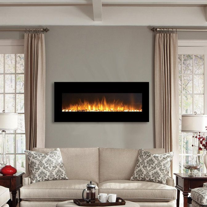 49 Best Wall Mount Electric Fireplaces Images On Pinterest
