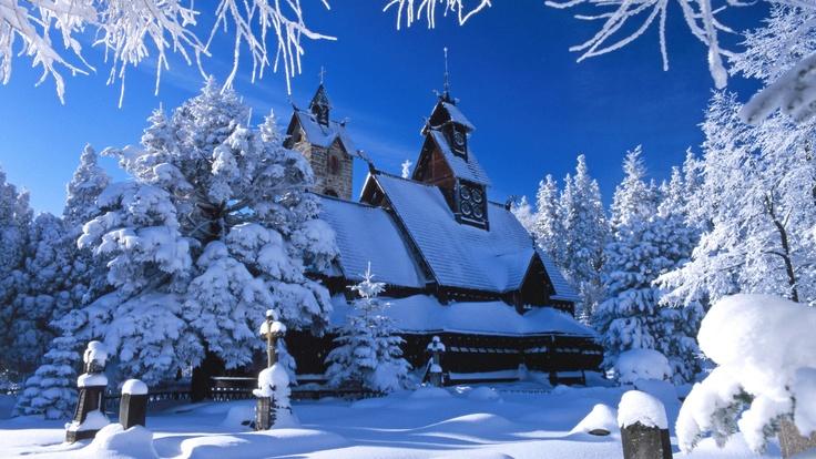 Wang Temple Karpacz, Poland.