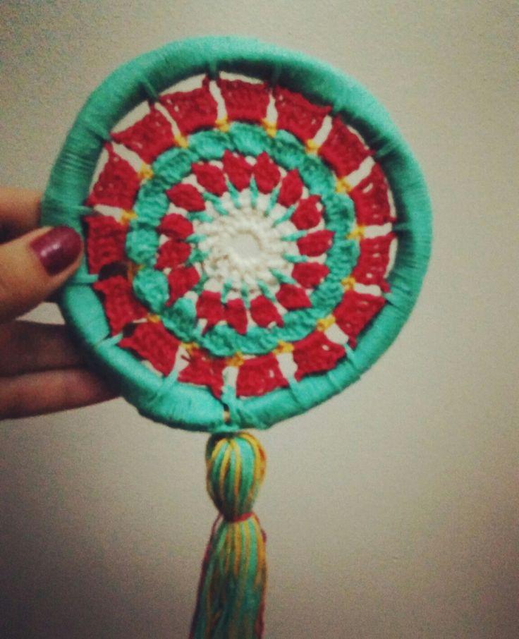 Mandala #crochet #mandalamadness