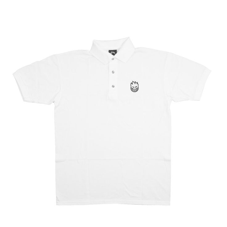 Spitfire Bighead Embroidered S/S Cut & Sew Polo