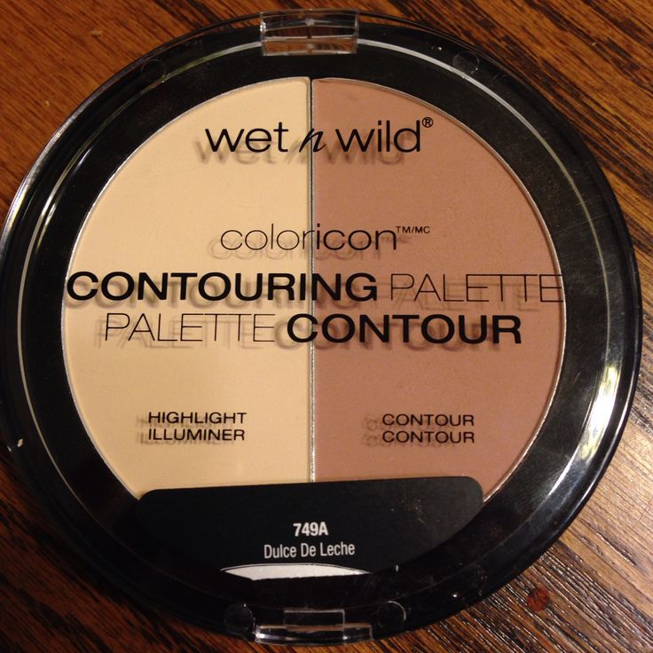 Wet n wild new contour and highlight duo. Very pigmented.