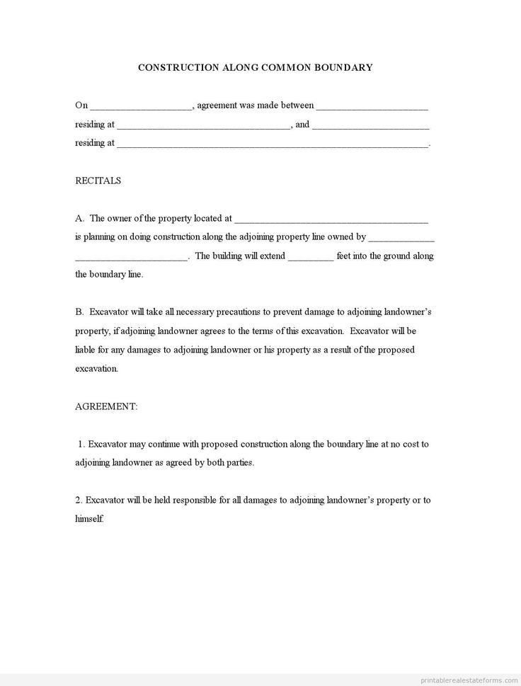 4078 best Printable Real Estate Forms 2014 images on Pinterest - real estate contract template