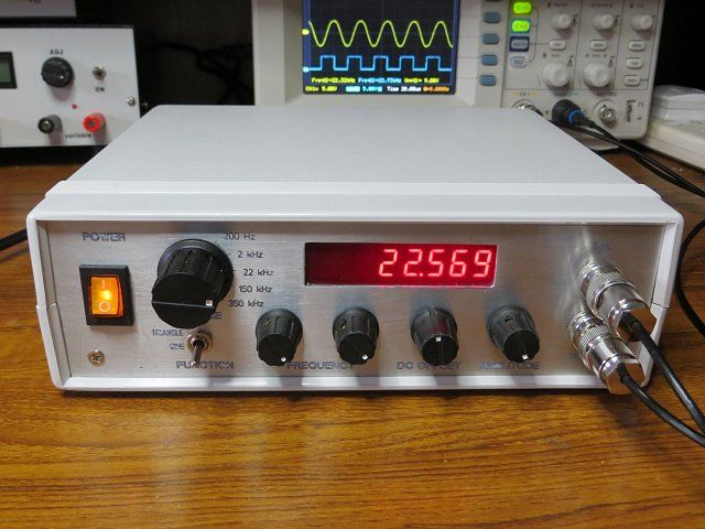 how to use oscilloscope and function generator pdf