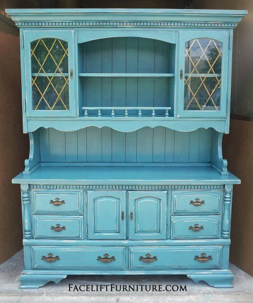 Distressed Bedroom Furniture Diy: 17 Best Images About Hutches, Cabinets & Buffets On Pinterest