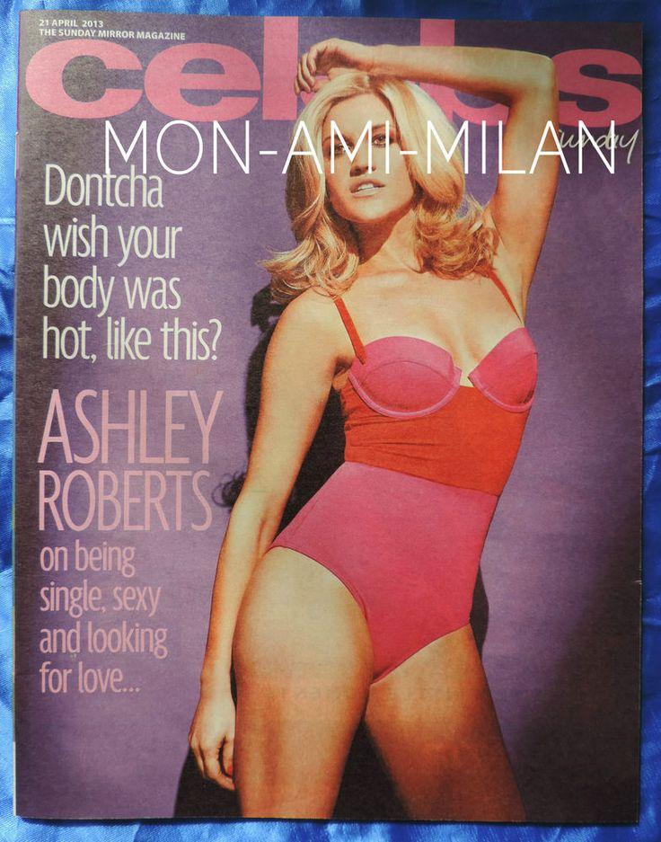 ASHLEY ROBERTS Lisa Riley LISA STANSFIELD Julian Clary SHILOH FERNANDEZ Mag 2013