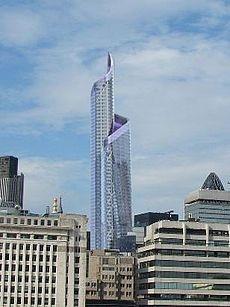 Pinnacle - the bishopsgate tower, london