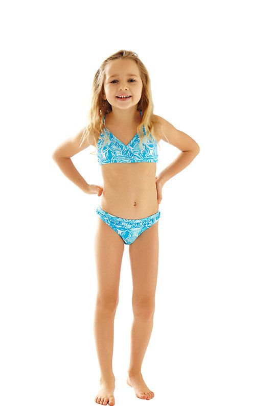 The Sansa printed bikini is adorable and your little will ...