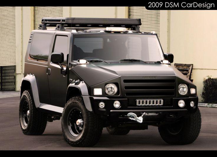 voiture 4x4 umm