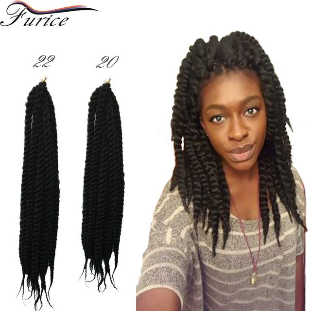 Havana Mambo Twist Crochet Braids Hair Extension Curly Crochet Braiding Hair Freetress  Curly Weave Havana Mambo Senegalese