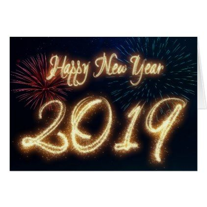 sparkling new year 2019 fireworks greeting card new years eve happy new year designs party celebration saint sylvesters day