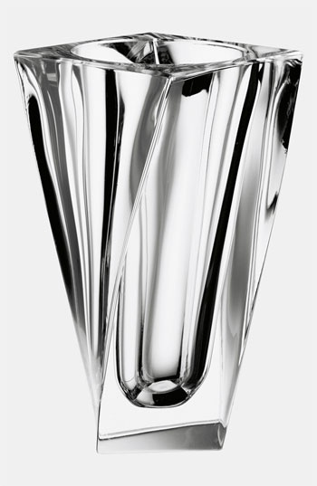 Orrefors 'Tornado' Crystal Vase